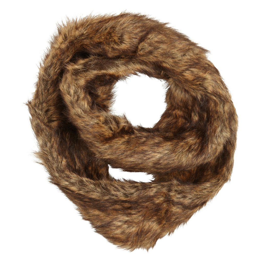 A fancy faux fur scarf for under $30? You'd better snap up Aldo's Wulveve Scarf ($22) before it's too late.