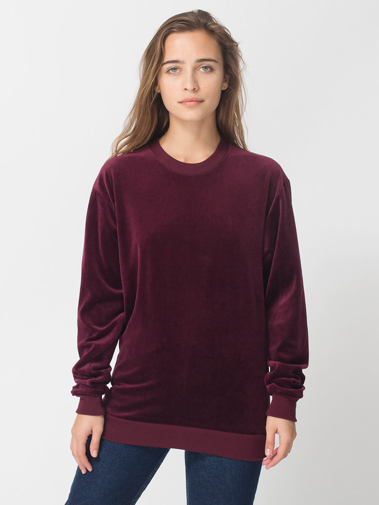 Instead of a baggier look, we'd buy this American Apparel Long Sleeve Top ($38) in a size x-small to wear with our pencil skirts and lace-up booties.