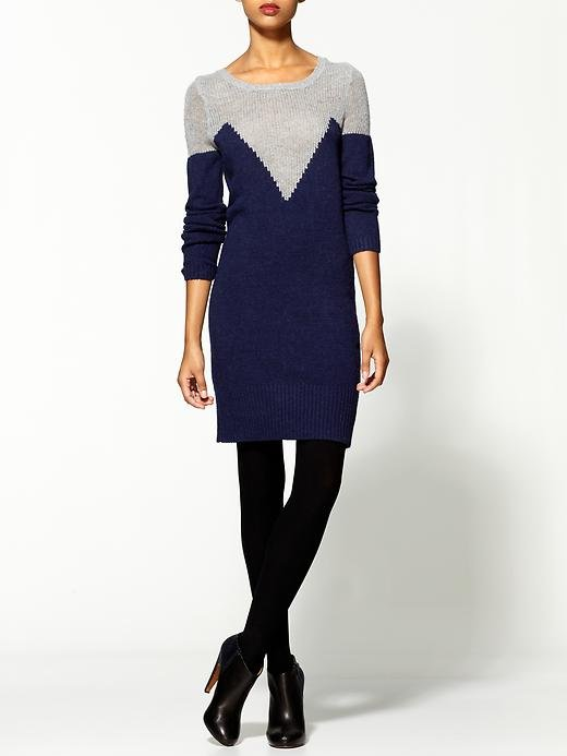 You may need to rely a little more on the accessories front to ensure this C.Luce Intarsia Sweater Dress ($69) looks formal enough at Thanksgiving dinner, but play your cards right (statement cuff, lug-sole boots, and a plum-red lip) and you'll be making this a repeat outfit.