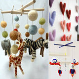 One-of-a-Kind Felt Mobiles For Any Crib