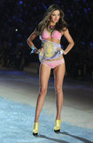 Victoria's Secret Angel, Miranda Kerr,  walked in the Victoria's Secret Fashion Show.