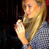 Bar Refaeli drank out of an eggshell. Source: Instagram user barrefaeli