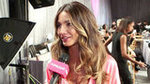 Video: Backstage at VS — Lily Aldridge on Getting Runway-Ready After Baby Pearl
