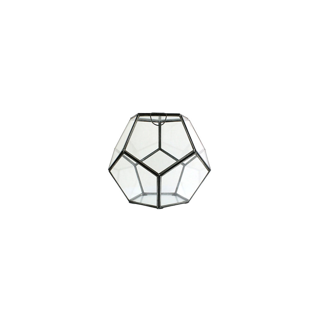 Elevate basic terrariums with an elegant vessel, like this Honeycomb Terrarium ($68). In a lighting pinch, you could even replace plants with a candle for a chic hurricane.