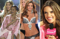 Video: Alessandra, Miranda and the Angels Take You Backstage With Victoria's Secret