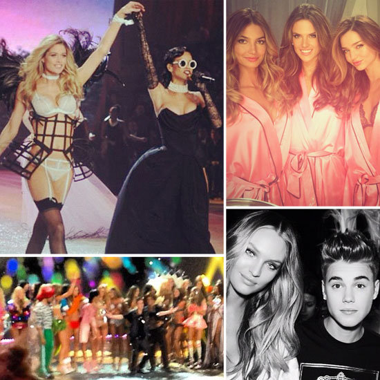 Fun Candids From the Victoria's Secret Fashion Show