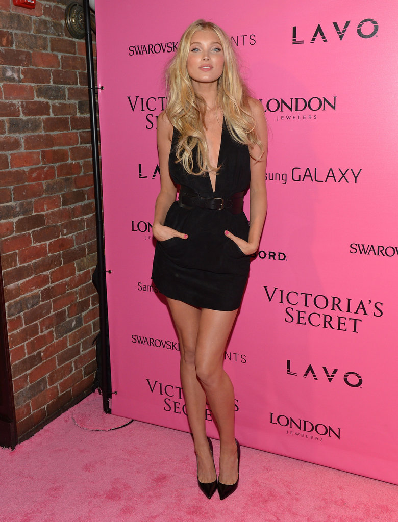 Elsa Hosk attended the Victoria's Secret Fashion Show after party in NYC.