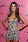 Alessandra Ambrosio was on the pink carpet to celebrate the Victoria's Secret Fashion Show in NYC.