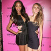 Cara Delevigne, Lily D and Jourdan Dunn at Victoria&#039;s Secret