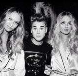 Candice, Justin and Lindsay chillin' backstage. Twitter user: @nomadrj