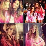 The Victoria's Secret Angels' Tweet Pictures of Their Show Prep!