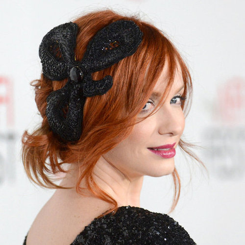 Celebrities Wearing Big Hair Accessories
