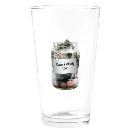 Douchebag Jar Drinking Glass ($16)