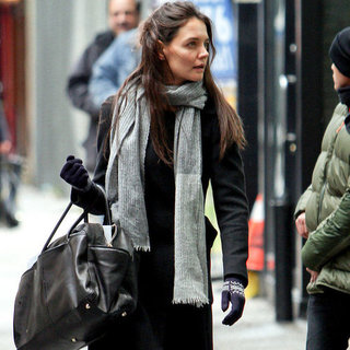 Katie Holmes Interview About Broadway Play