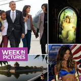 The Obama Family Returns Home, the Fat Lady Sings, and Models Share Victoria's Secret