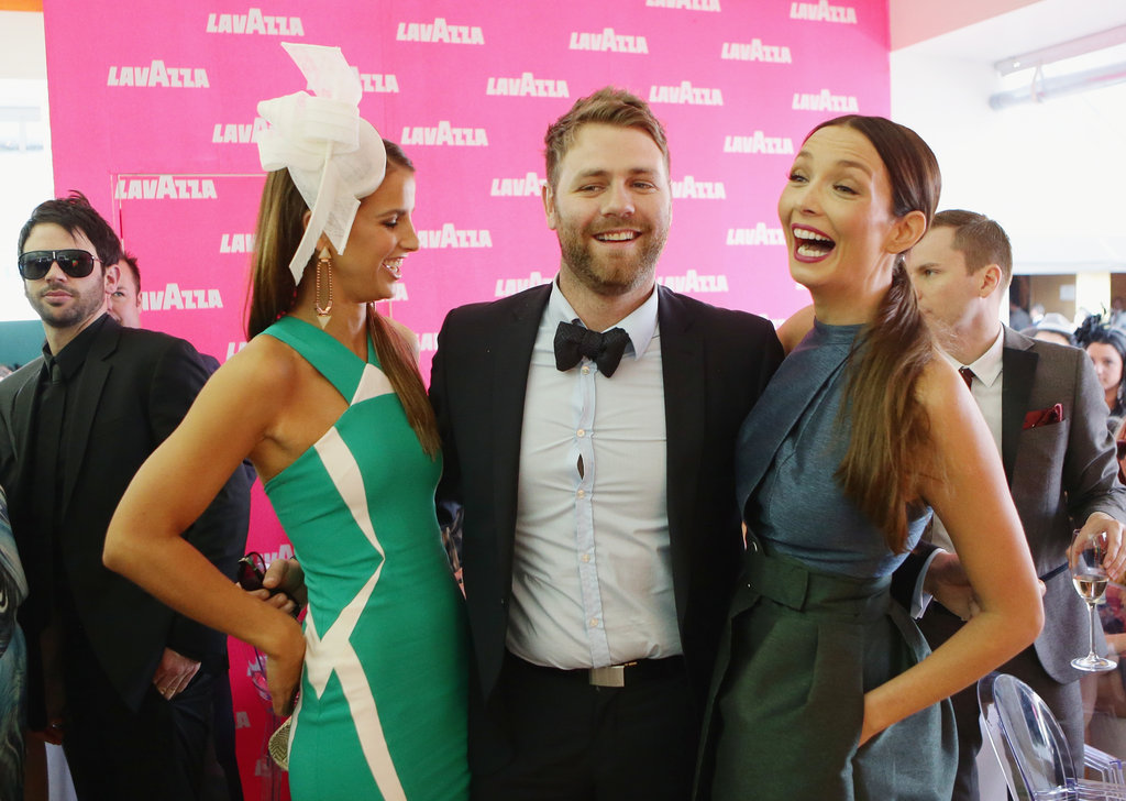 Vogue Williams, Brian McFadden and Ricki-Lee Coulter