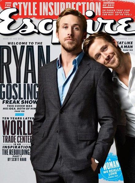 Ryan Gosling's Sexiest Magazine Covers