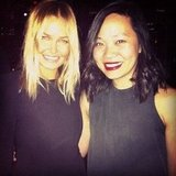 PopSugar editor Jess met the lovely and sweet Lara Bingle at the Moet party in Melbourne. . .