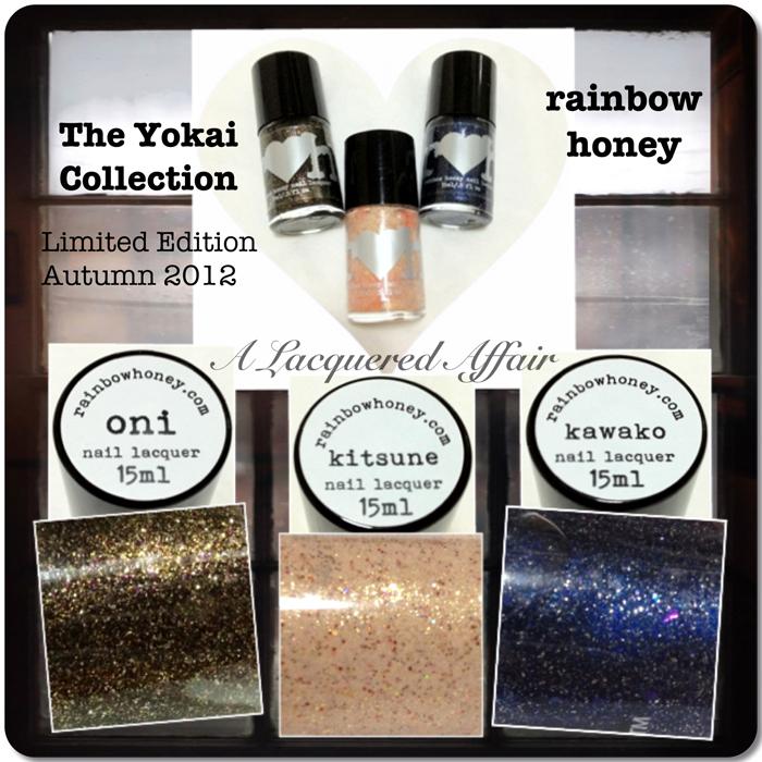 Rainbow Honey The Yokai Collection