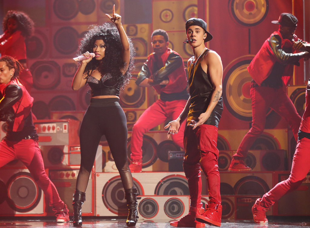 Nicki Minaj and Justin Bieber