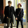 Kirsten Dunst & Garrett Hedlund Kissing in London | Pictures