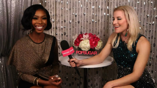 "Video: Brandy Talks ""Comeback"" Album Backstage at the AMAs"