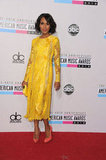 Kerry Washington hit the red carpet at the American Music Awards.