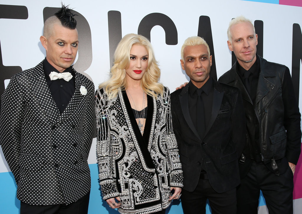 No Doubt attended the American Music Awards.