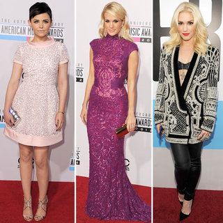 Red-Carpet Trends at American Music Awards 2012 (Pictures)