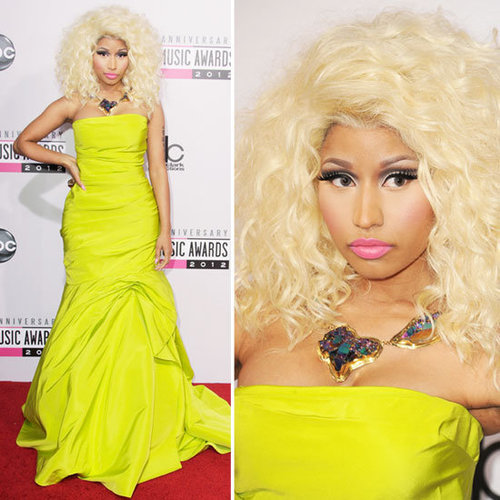 Nicki Minaj at American Music Awards 2012