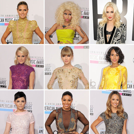 American Music Awards 2012: Who Wore What