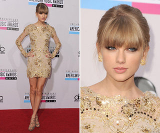 Taylor Swift at American Music Awards 2012