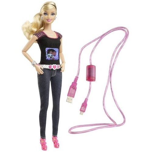 For 6-Year-Olds: Barbie Photo Fashion Doll