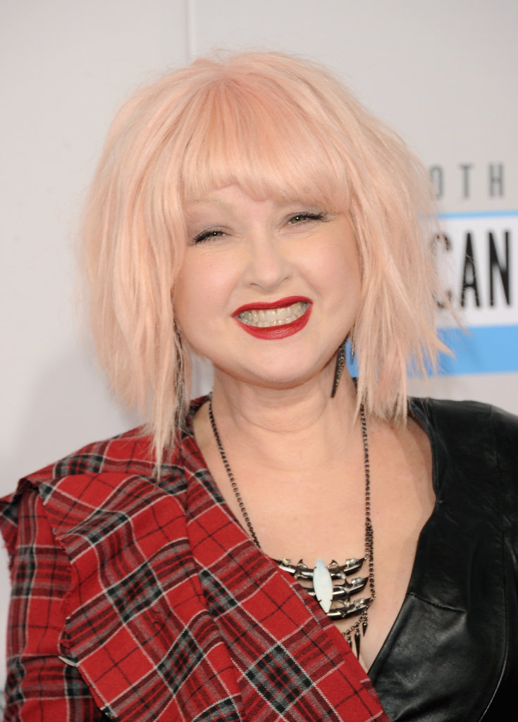 Now: Cyndi Lauper