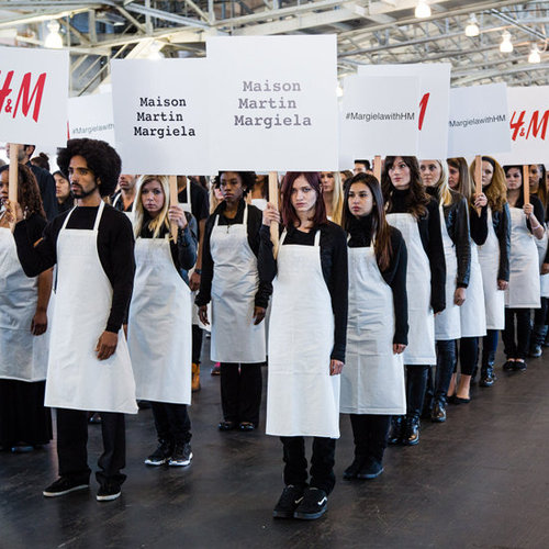 Margiela For H&M Silent March | Pictures and Video