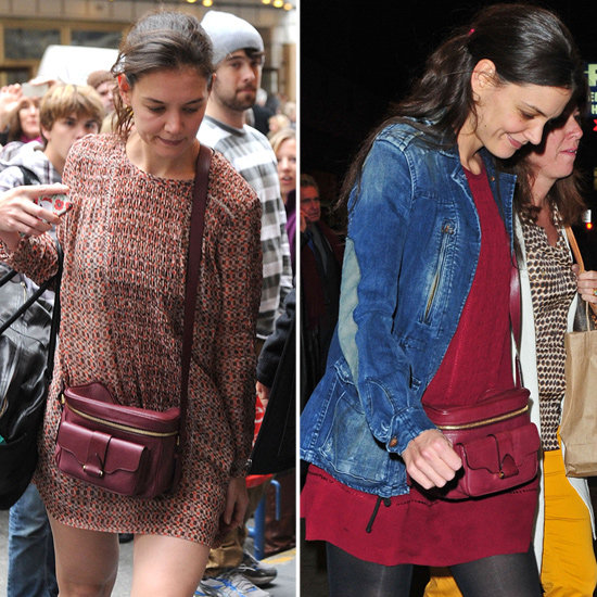Katie Holmes Works Her Derek Lam Camera Bag Day and Night