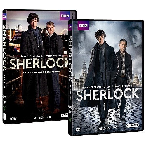 Sherlock: Season One ($21, originally $35) Sherlock: Season Two ($20, originally $30)