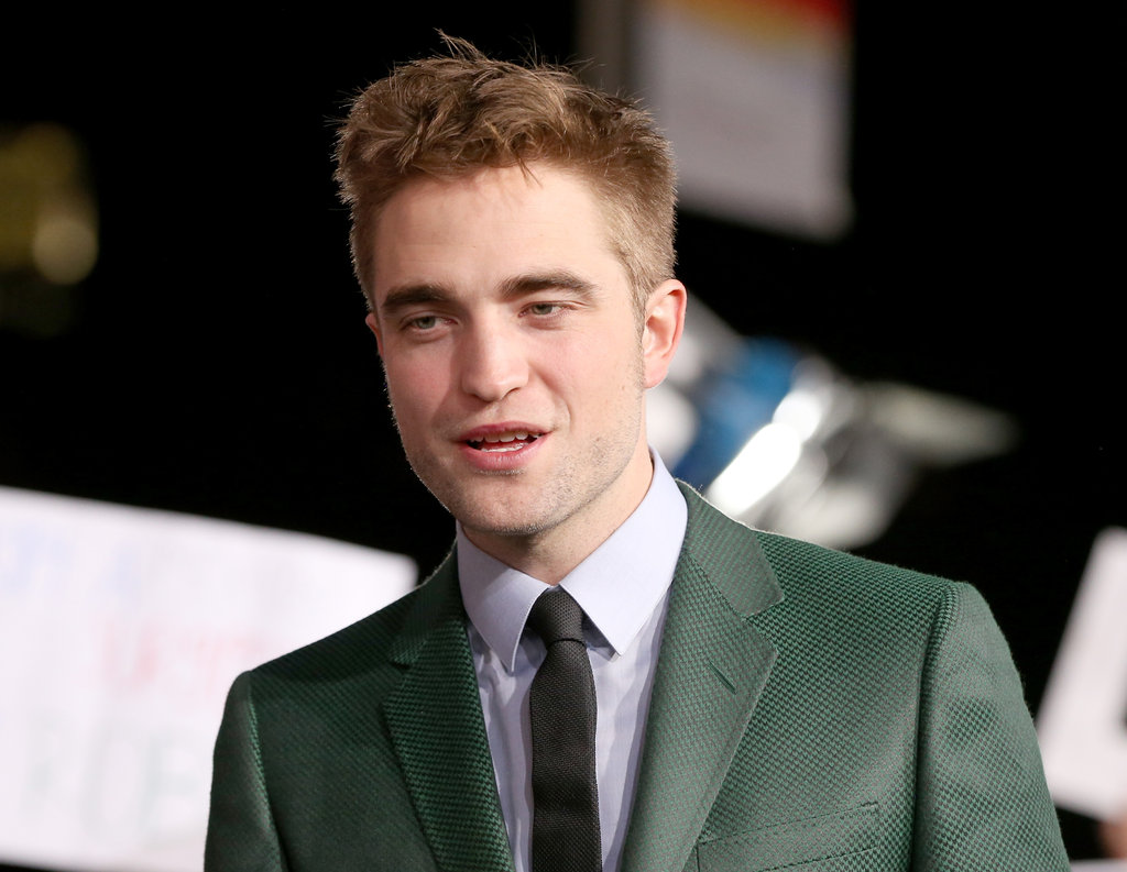 Robert Pattinson Goes Green For Twilight's Final Premiere