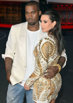 59. Kim and Kanye Hook Up