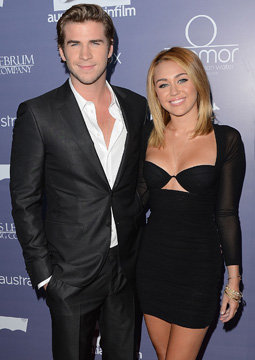 36. Miley Cyrus Gets Engaged