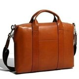 Jack Spade Davis Leather Briefcase