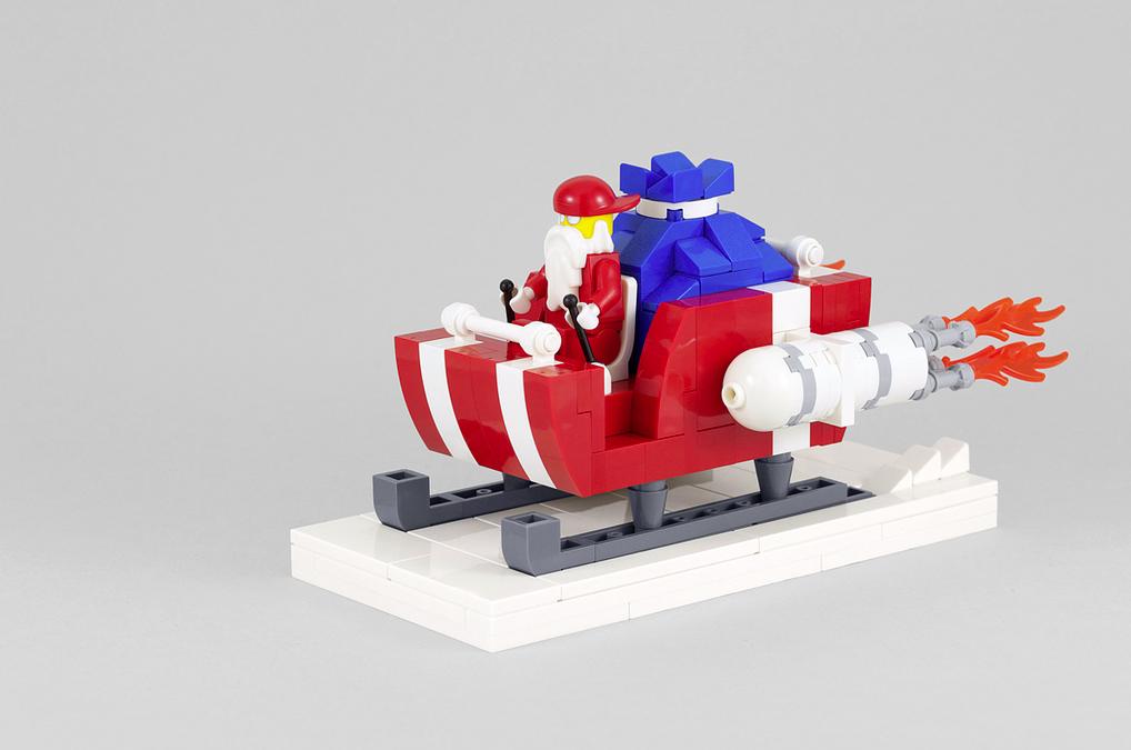 Santa's Sleigh Building Guide
