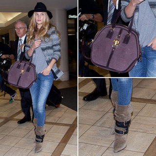Rosie Huntington-Whiteley Airport Style | November 2012