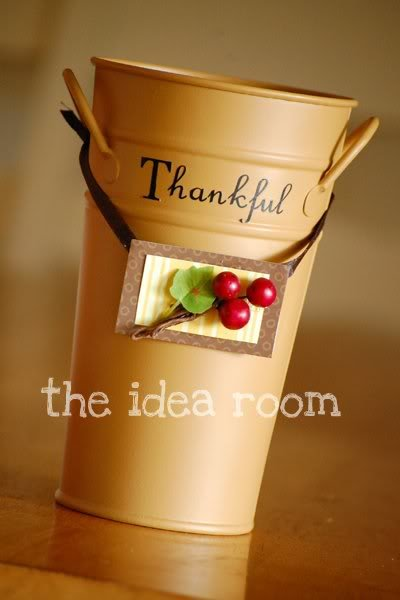 Thankful Bucket