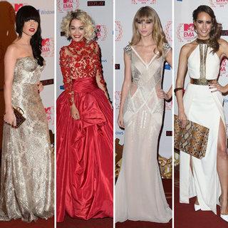 2012 MTV EMAs: Taylor Swift, Rita Ora, Lana Del Rey Style