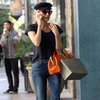 Diane Kruger Orange Bag