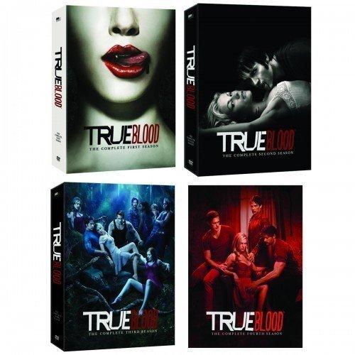 True Blood Seasons 1-4 ($130)