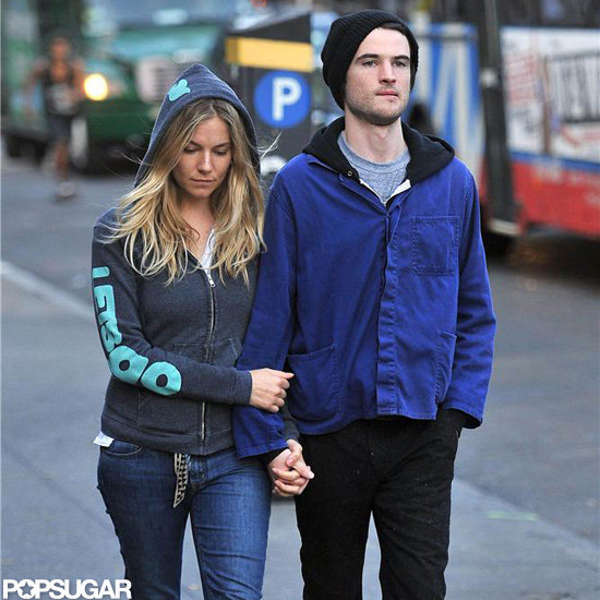 Sienna Miller and Tom Sturridge spent some time together in NYC.
