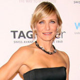 Cameron Diaz Creates the Perfect Little Black Dress Holiday Look