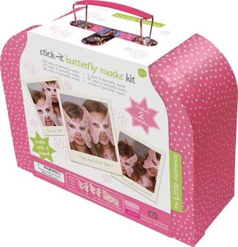 For 4-Year-Olds: The Little Experience Stick-It Butterfly Masks Kit